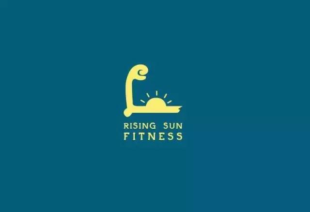 健身房标志设计集合