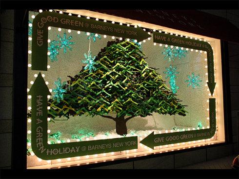 """圣诞""""大餐""""——创意橱窗设计"""