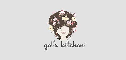 脸做标志设计_logo设计_www.ijizhi.com