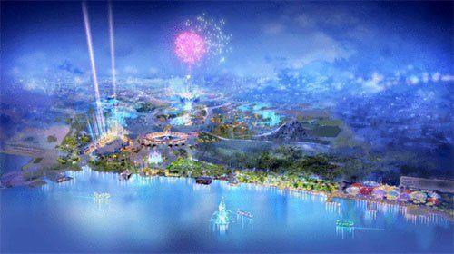 上海迪士尼乐园设计草图首次公布