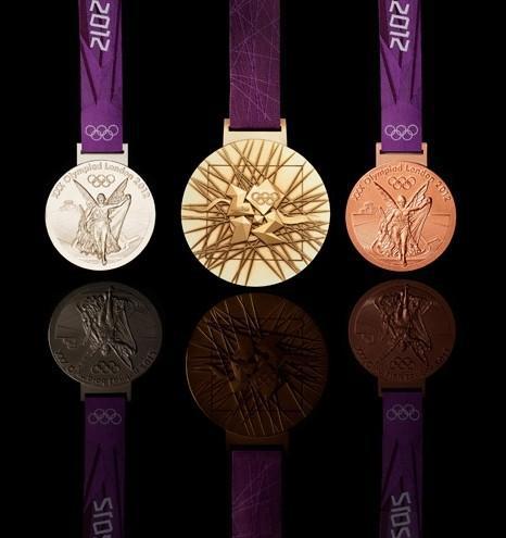 2012年伦敦奥运会奖牌设计