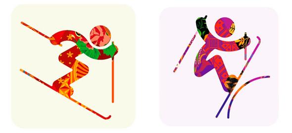 2014年第二十二届冬季奥林匹克运动会将于2014年2月7日至2月23日在俄罗斯索契举行。数码会徽早在2009年12月1日公布(看图)2014年索契冬季奥运会运动项目图标表现灵感来源于俄罗斯典型的传统服饰图案,将俄罗斯民族风味的服装展现的淋漓尽致。在2008年的北京奥运会上,图标设计以篆字结构为基本形式,兼具中国古代甲骨文、金文等文字的象形意趣和现代图形的简化特征,集中体现了中国传统美学的精华与神韵。