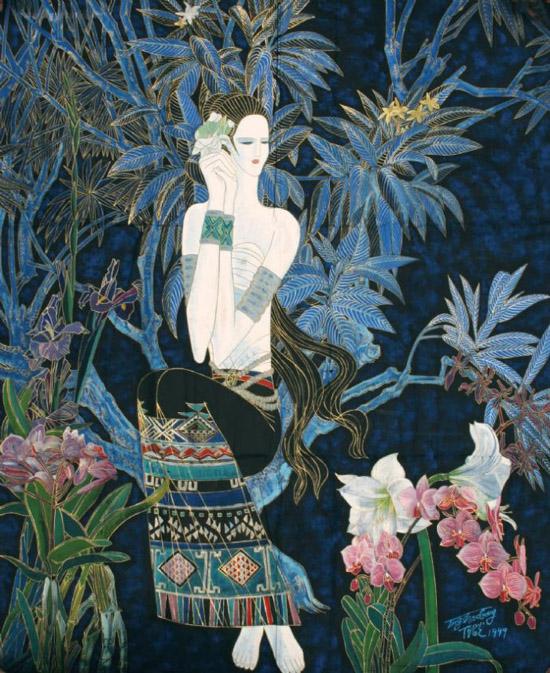 云南现代重彩画欣赏