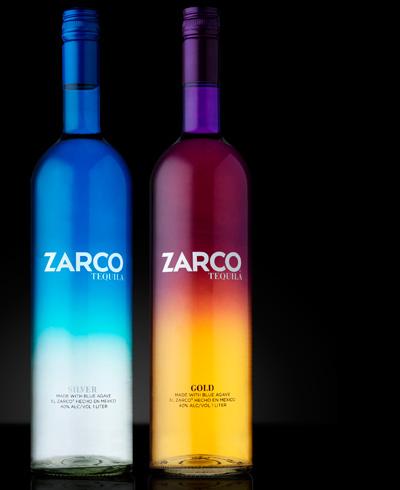 国外精美瓶装酒品包装设计