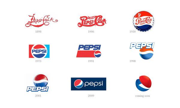百事可乐全新概念logo设计欣赏