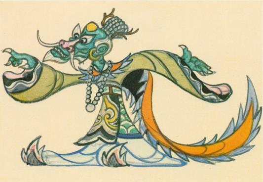 龙年显龙威!动画片中的龙形象盘点_logo设计_