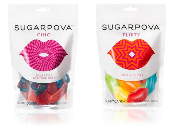 sugarpova糖果品牌形象包装设计_logo设计_www.ijizhi