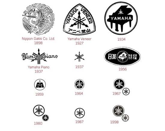 雅马哈创立125年纪念logo设计