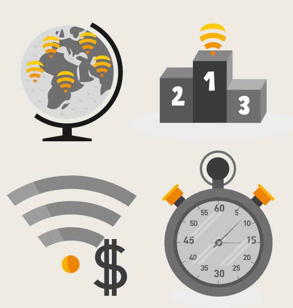 全球免费wifi联机公司fon启用新标志