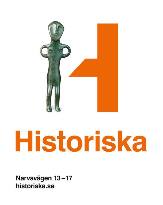 瑞典文化历史博物馆(Swedish History Museum)1939年建于瑞典斯德哥尔摩,于1943年正式对外开放。是瑞典著名的古文物陈列博物馆。馆内收藏着瑞典上自史前时期到16世纪中世纪时期超过20000件的历史文物。馆内收藏大量金制文物的展馆是该馆最为著名的展馆。(维基百科)3月18日开始,该馆将使用由瑞典Bold设计公司设计的新标志。  新标志灵活的将H和博物馆的文物互相结合,进行无限的演变。这种表现形式目前已经非常普遍,日前本站刊登的皇家安大略博物馆新Logo也是使用类似的手法。