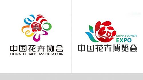 花卉logo设计