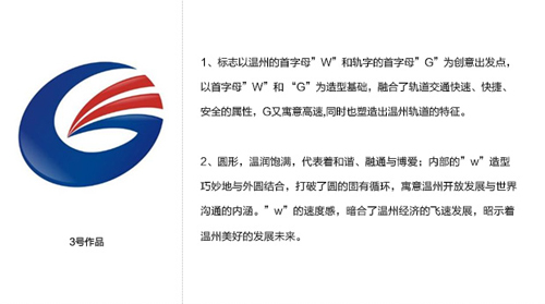 温州轨道交通logo三选一_logo设计_www.ijizhi.com
