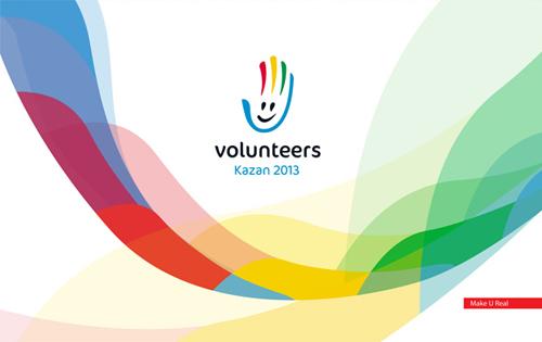 2013年喀山大运会会徽和志愿者标志_logo设计_www.i.