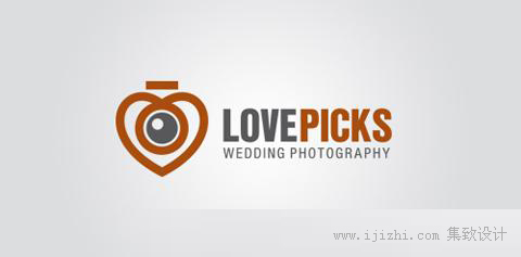 摄影主题精彩logo创意设计